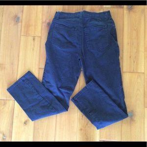 Gloria Vanderbilt Amanda Navy Jeans size 4S x 28